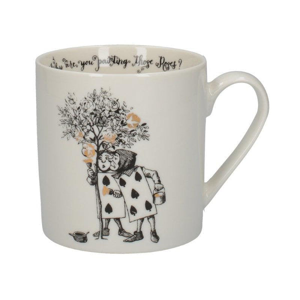 C000050 Victoria And Albert Alice in Wonderland The Spade Gardeners Mug