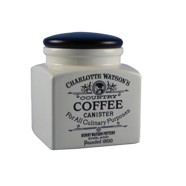 Charlotte Watson Small Coffee Canister - Cream