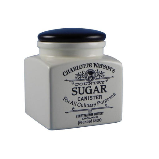 Charlotte Watson Small Cream Sugar Storage Jar