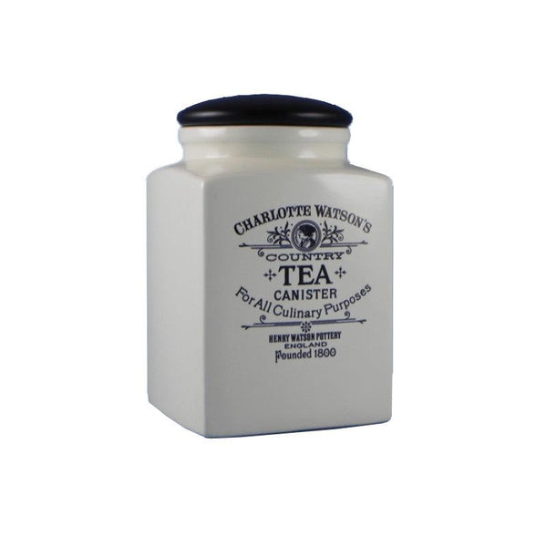 Charlotte Watson Large Tea Canister - Cream