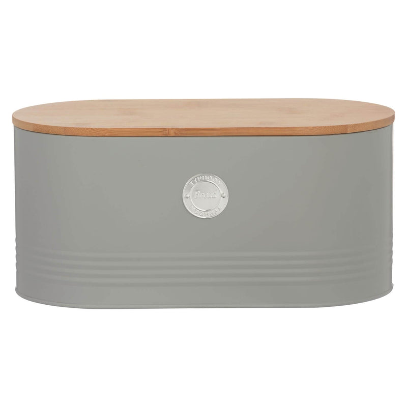 Typhoon Living Bread Bin - Grey
