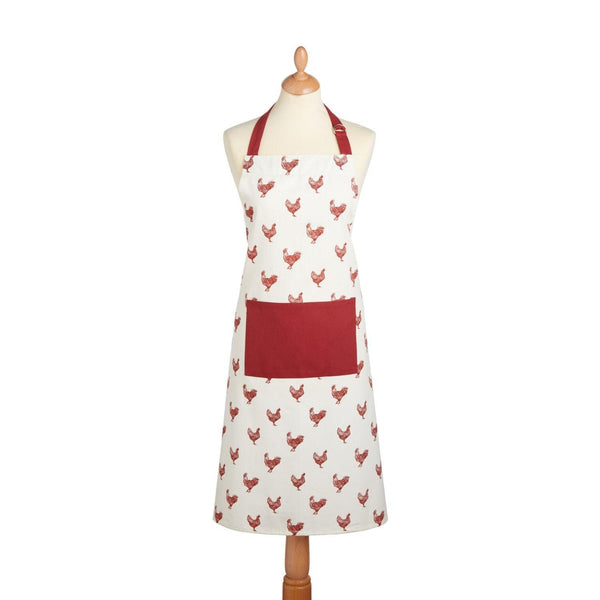 KitchenCraft Cotton Apron - French Hen
