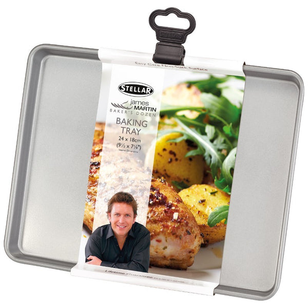 Stellar James Martin Bakers Dozen Baking Tray - 24cm