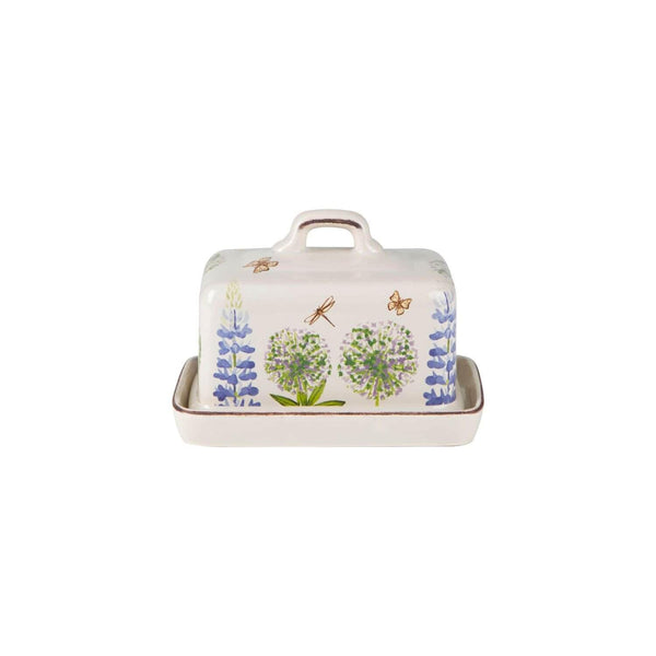 Cottage Garden Butter Dish