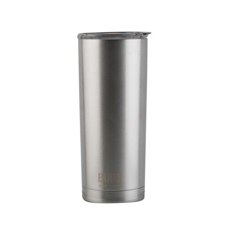 5193244 Built 20oz Double Walled Silver Tumbler