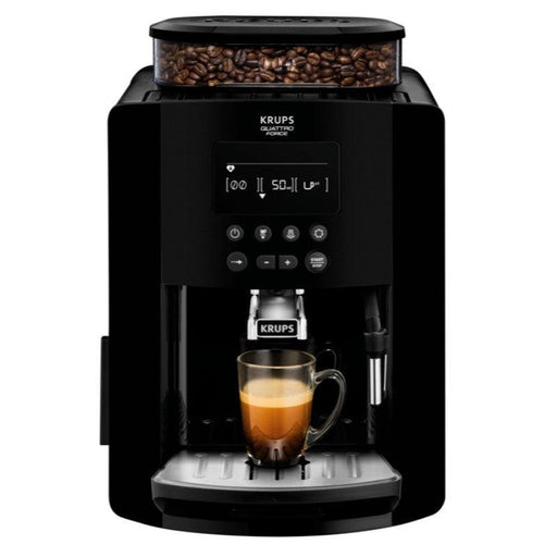 EA817040 Krups Arabica Digital Bean-to-Cup Black Coffee Machine