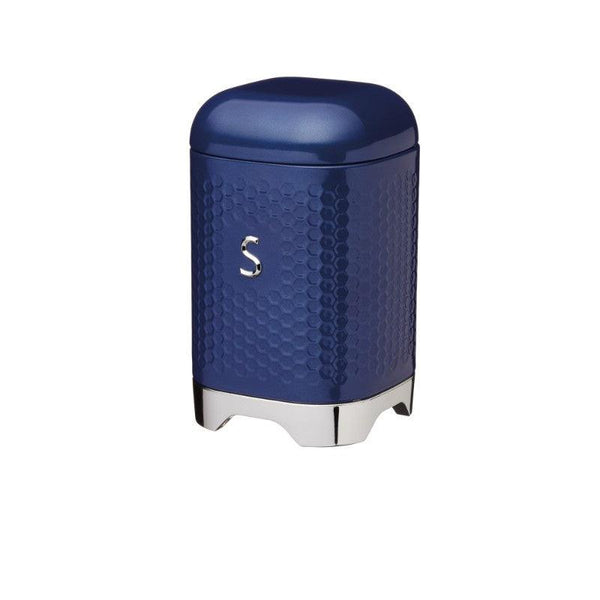 LOVSUGARBLU Lovello Textured Navy Blue Sugar Canister - Main