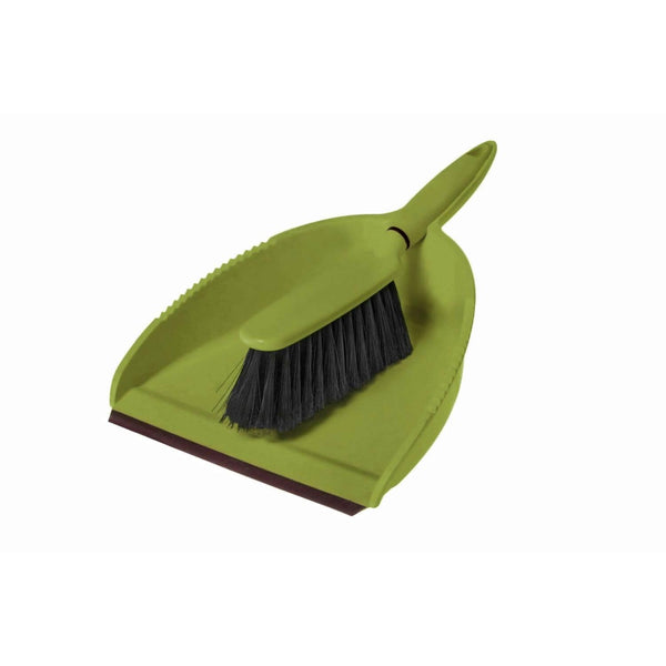 Greener Cleaner Dustpan & Brush Set - Green