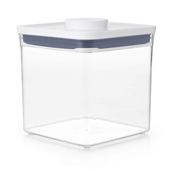 OXO Good Grips POP 2.0 Square Short Storage Container - 2.6 Litre