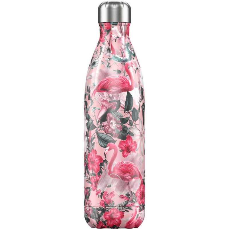 Chilly's 750ml Tropical Drinks Bottle - Flamingo