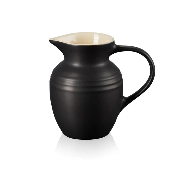 Le Creuset Stoneware Breakfast Jug - Satin Black