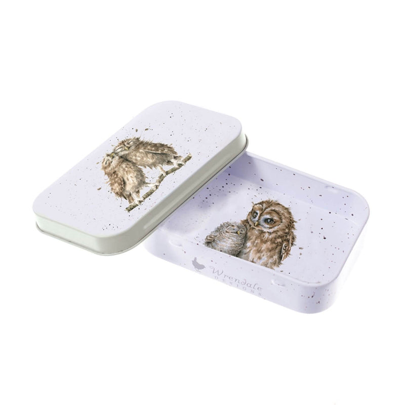 Wrendale Designs Owl Mini Tin - Birds Of A Feather