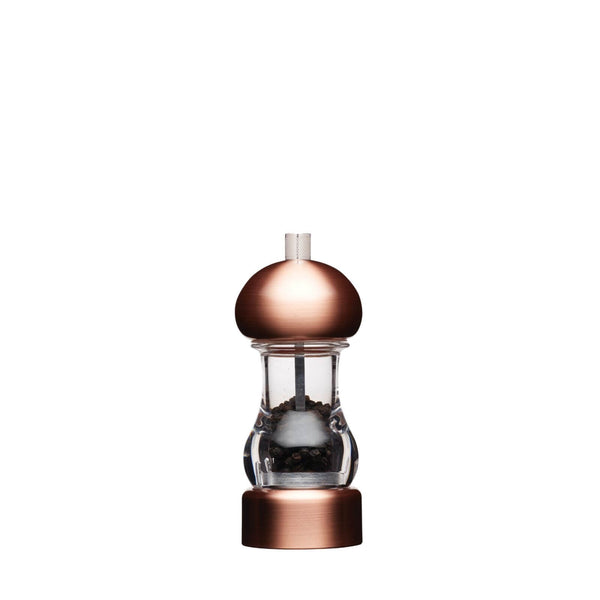 MasterClass Filled Small Capstan Pepper Mill - Copper
