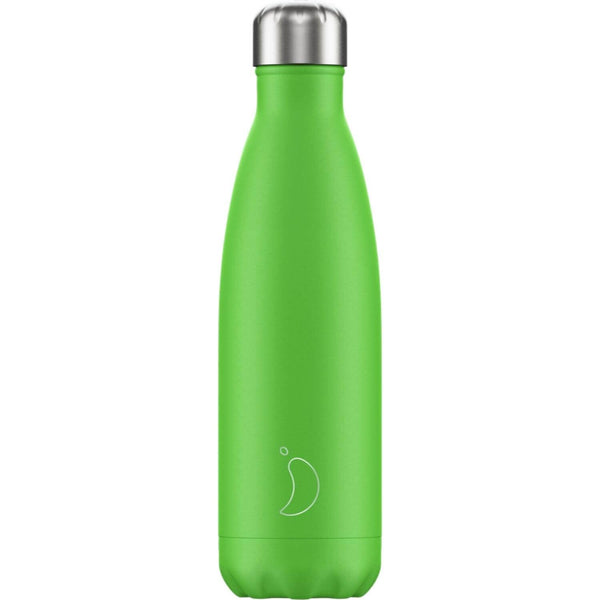 Chilly's 500ml Neon Drinks Bottle - Green