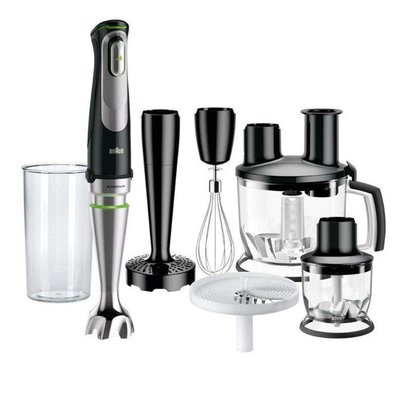 Braun MultiQuick MQ9087X 9 Hand Blender Set - Black