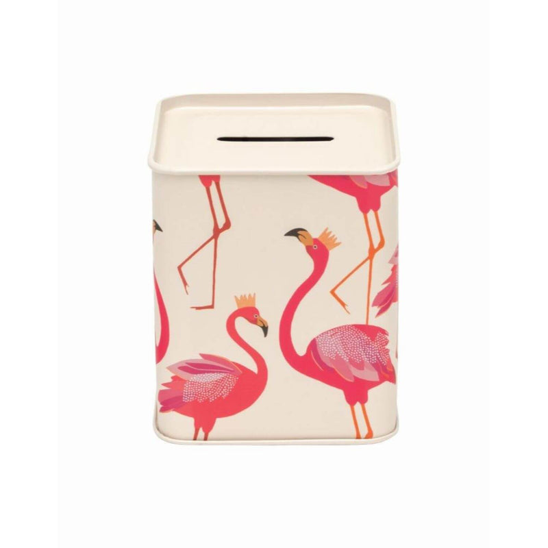 Sara Miller London Money Box - Flamingo