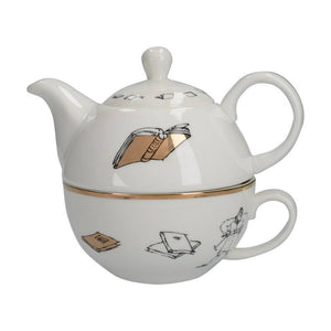 Matilda Phizz-Whizzing Teapot & Cup Set