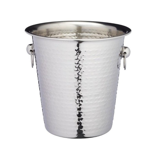 BCCHAMBUCHAM Barcraft Hammered Steel Champagne Ice Bucket