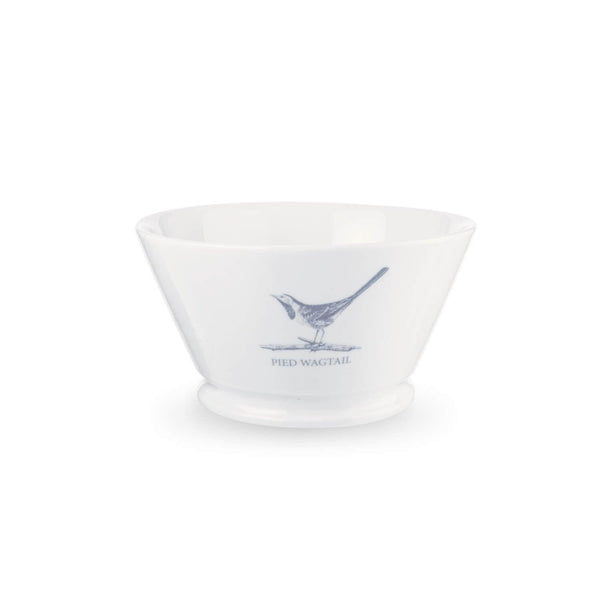 Mary Berry English Garden Medium Serving Bowl - Pied Wagtail