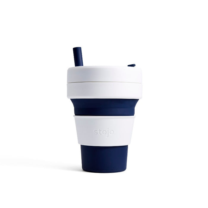 Stojo Biggie 16oz Collapsible Cup - Indigo
