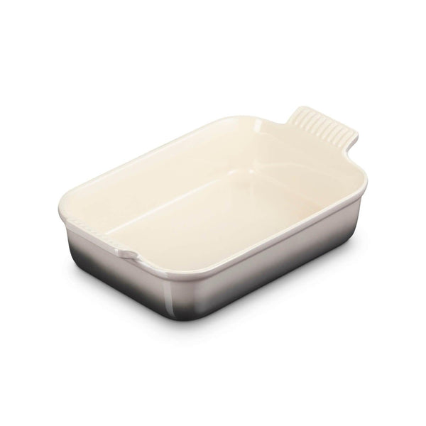 Le Creuset Heritage Stoneware Medium Rectangular Deep Dish - Flint