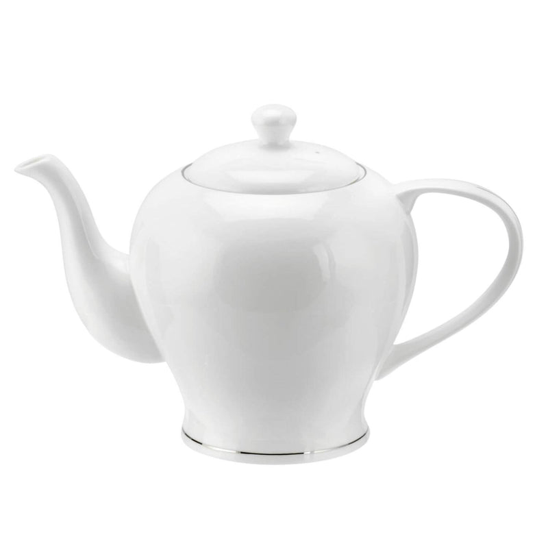 Royal Worcester Serendipity Platinum 4 Cup Teapot - White