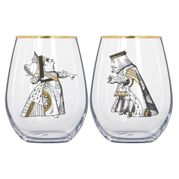 Alice in Wonderland Tumblers - Set of 2