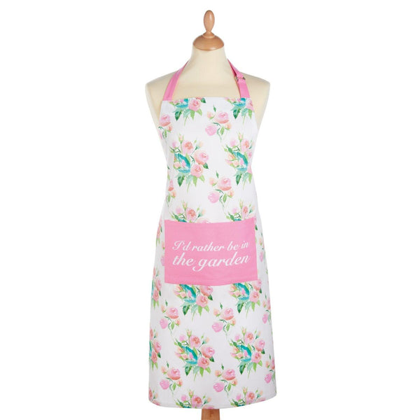 KitchenCraft Cotton Apron - Rose