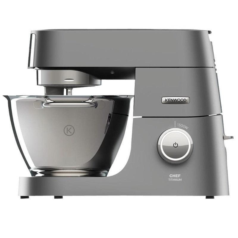 Kenwood Chef Titanium Stand Mixer in Silver
