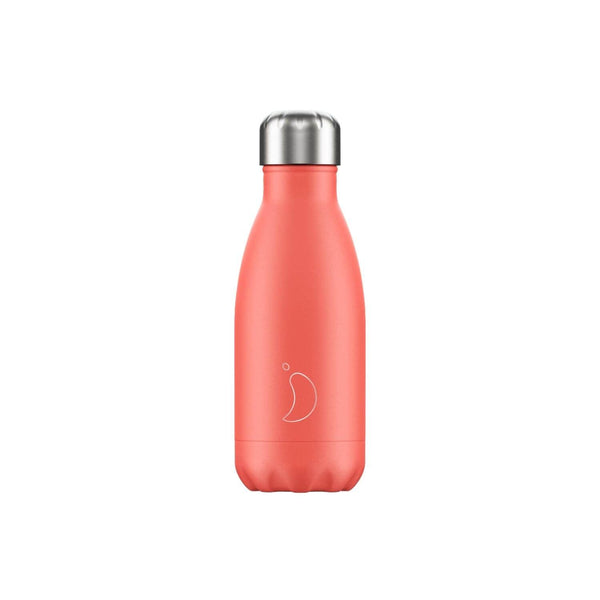 Chilly's 260ml Pastel Drinks Bottle - Coral