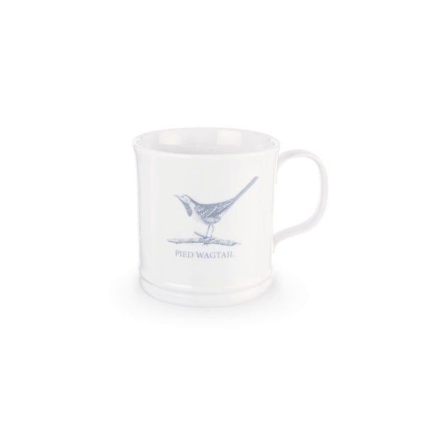 Mary Berry English Garden Mug - Pied Wagtail