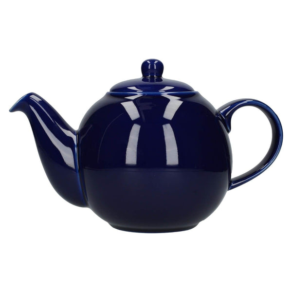 London Pottery Globe 6 Cup Teapot - Cobalt Blue