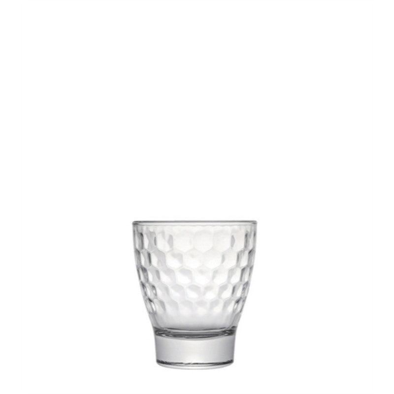 Luxe Honeycomb Tumbler Glass - 290ml