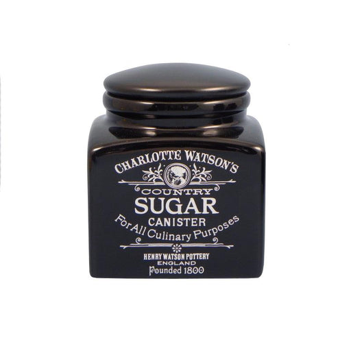 Charlotte Watson Black Sugar Storage Jar