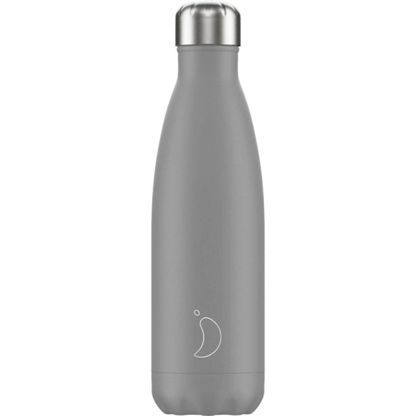 Chilly's 500ml Monochrome Drinks Bottle - Grey