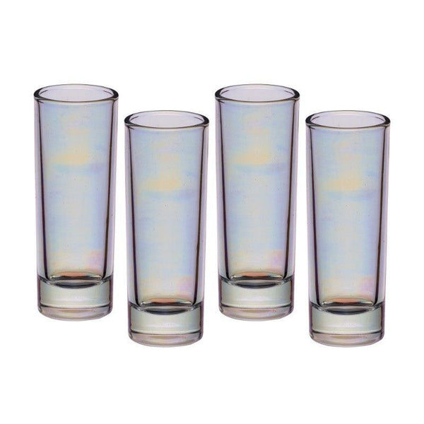 Barcraft Iridescent 60ml Shot Glasses - Set of 4