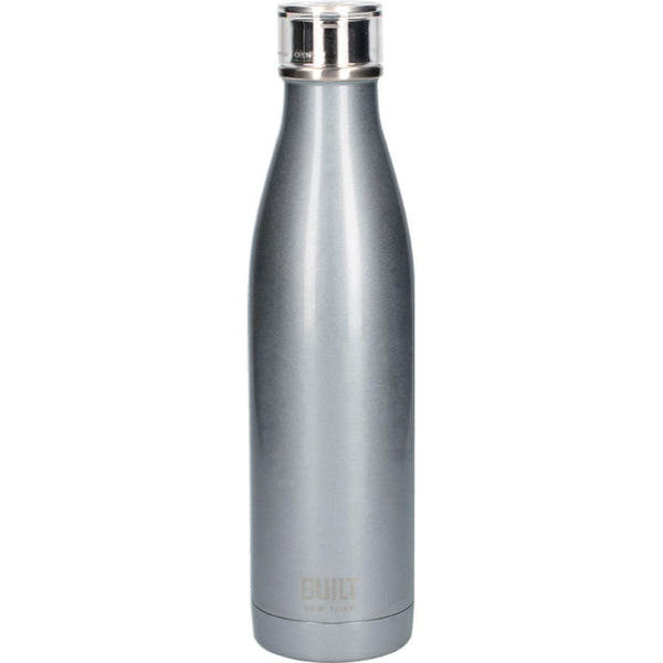 Built Double Walled Drinks Bottle 740ml - Silver