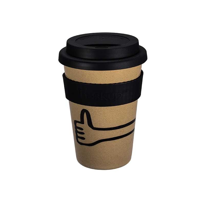 Huskup Mono 400ml Travel Mug - Thumbs Up