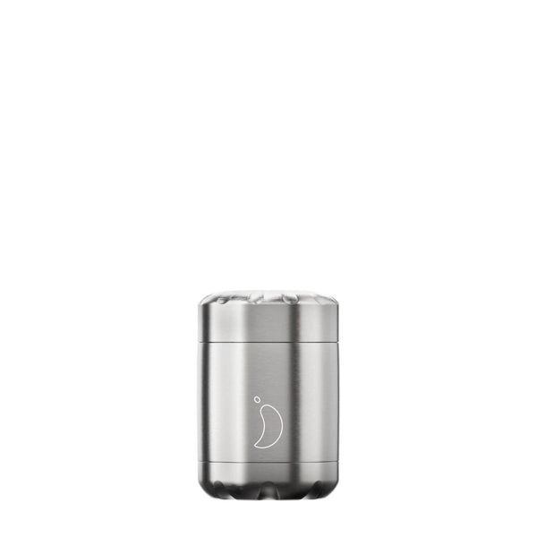 Chilly's 300ml Stainless Steel Food Pot - Silver