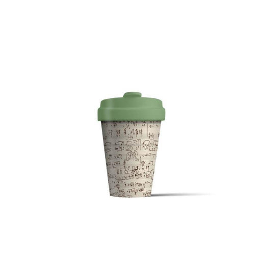 BambooCup 'Music Notes' Travel Mug - 400ml