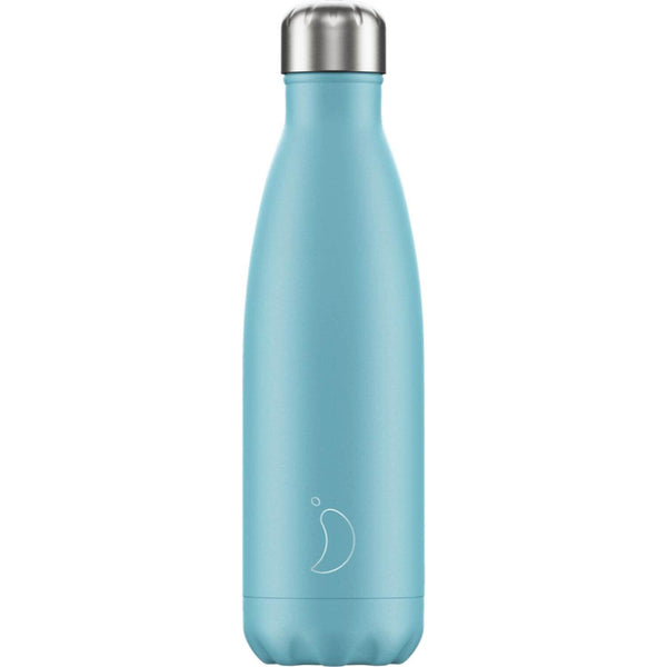 Chilly's 500ml Neon Drinks Bottle - Pastel Blue