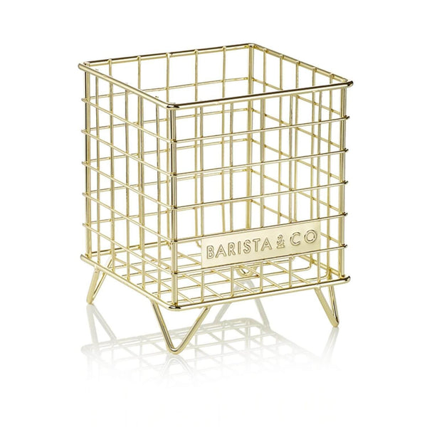 Barista & Co Coffee Pod Cage - Gold