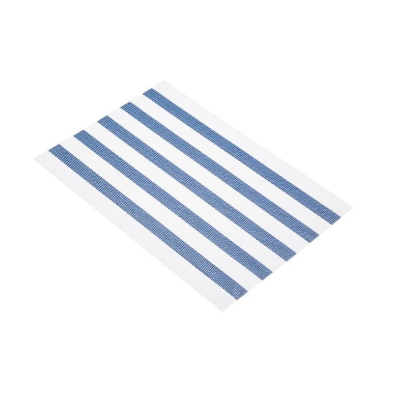 KitchenCraft Woven Placemat - Blue Stripe