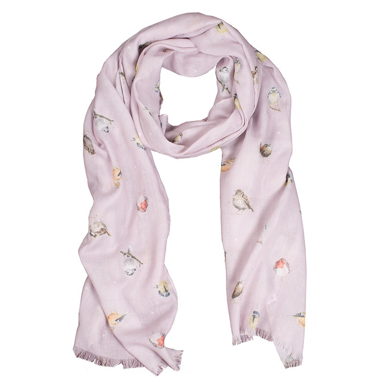 Wrendale Designs by Hannah Dale Scarf - Garden Birds