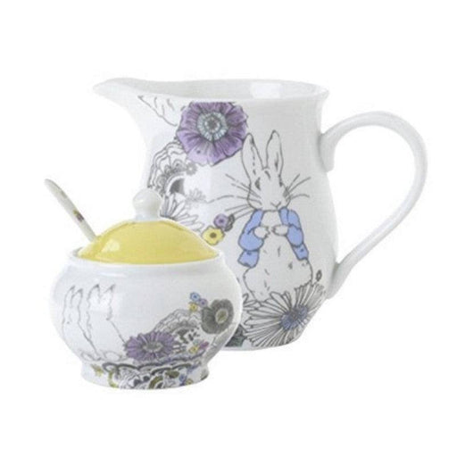 Peter Rabbit Contemporary Cream Jug & Sugar Bowl Set
