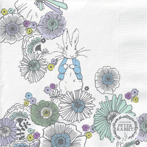 Peter Rabbit Contemporary Meadow Paper Napkins