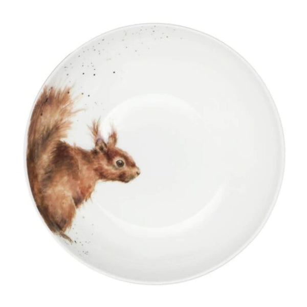 Royal Worcester Wrendale China Coupe Bowl - Squirrel