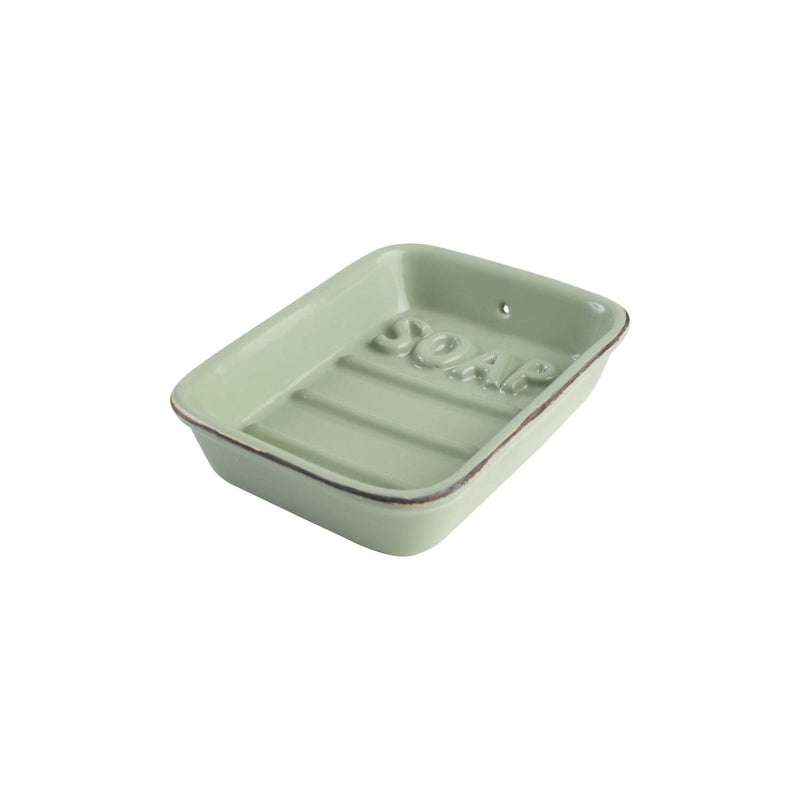 T&G Ocean Ceramic Soap Dish - Green