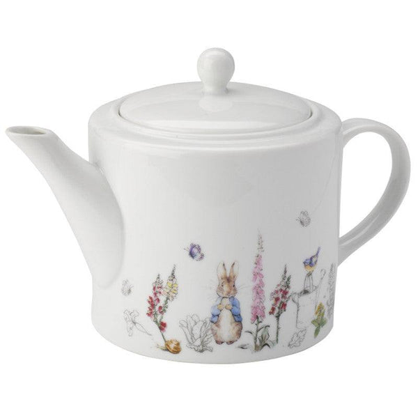 Peter Rabbit Classic White Tea Pot