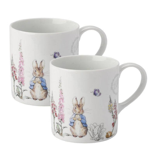 Peter Rabbit Classic 2 Piece Mug Set